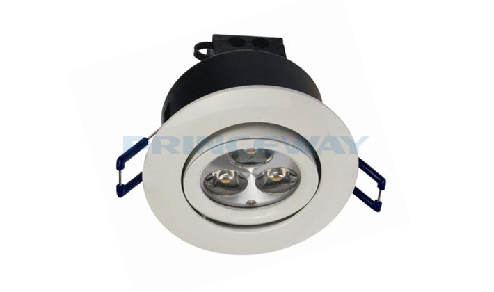 3w Dimmable Led Downlight Bathroom Recessed Light