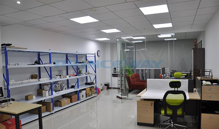 Most popular size 60x60cm led panel light for home and office the application of ultra thin 60x60cm led panel ceiling lights in princeways sales office mozeypictures Gallery